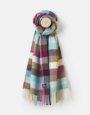 Joules 124977 Scarf ONE in MULTI GINGHAM in One Size