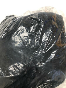 """Pottery Barn Teen Black Washed Twill Bean Bag Chair Slipcover ONLY NEW 41"""""""