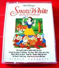 Walt Disney's Snow White And The Seven Dwarfs Tape Audio Book Story+Songs