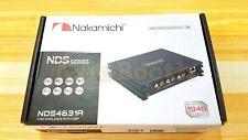Nakamichi Nds4631A Car Audio Digital Signal Processor 6Ch Dsp Amplifier 31 Eq