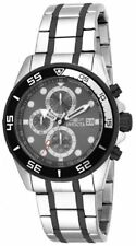 New Mens Invicta 17016 Specialty Chronograph Two Tone Stainless Steel Watch