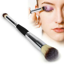 Newest Double-Ended Liquid Foundation/Powder/Contour/Eyeshadow Make Up Brush KN