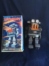 1970s Astronaut Battery Robot Toy Automatic Action: HORIKOWA JAPAN / IN Box