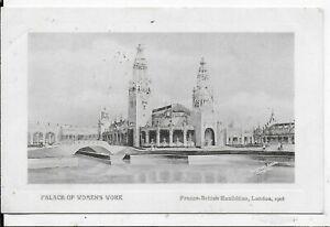 VINTAGE POSTCARD,PALACE OF WOMEN'S WORK, FRANCO-BRITISH EXHIBITION,LONDON,1908