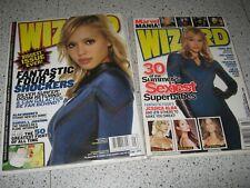Wizard Comic Book Magazine Lot Jessica Alba Fantastic Four #166 179 Marvel Movie