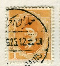 EGYPT;   1923 early King Faud. issue fine used 1m. value