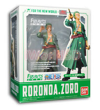 Authentic Bandai Figuarts Zero One Piece Roronoa Zoro New World Version USA New