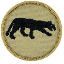 BSA PATROL MEDALLION PATCH - PANTHER - 1989-2002 - PRE-OWNED  A00270