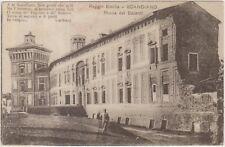 SCANDIANO - ROCCA DEI BOIARDI - POESIA DI CARDUCCI (REGGIO EMILIA) 1918 CENSURA