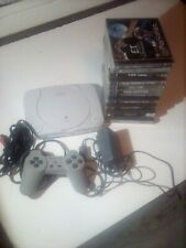 Sony PlayStation 1 PS1 Console Bundle - 12 Games