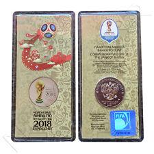 Rusia 25 rublos color 2ª de la serie  2018 FIFA World Cup Russia  Russland