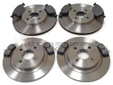 FORD FOCUS ST170 1998-2004 MINTEX FRONT & REAR BRAKE DISCS AND PADS SET NEW