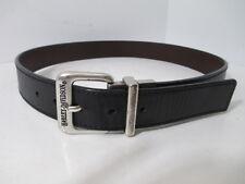 "Harley-Davidson HD  Men's Reversible Leather Belt Black Brown 31-1/2"" to 35-1/2"""