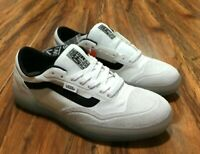 Vans Ave Pro Men's Skate Shoes Blanc De Blanc Black Size 7.5
