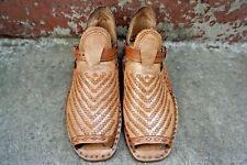 HUARACHES Luxury PETATILLO VOLTEADO ''Acme'' Mexican Sandals Men's Huaraches Fin