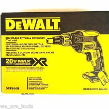 NEW IN BOX Dewalt DCF620B 20V Max Cordless Battery Drywall Screw Drill 20 Volt