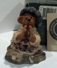Boyds Bearstones - Sebastin's Prayer -  PRAYING GOLFER  2227 - 3E/1492  retired