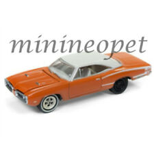 Johnny Lightning Jlcp7081 B 1970 Dodge Coronet Super Bee 1/64 Go Mango Irid