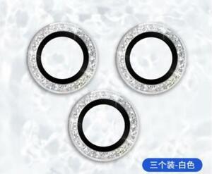 Bling Tiny Diamond Camera Sticker fr iPhone 13 12 Pro Max 11 Glass Len Protector