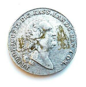 Hesse-Cassel 'Star' Taler 1776 BR Friedrich II /Fine-VF