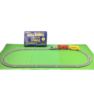 Original Micro Express Miniature Railroad Collectors Toy Train Engine Set 1989