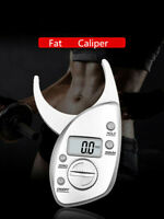 Free Shipping Fat detector digital display fat caliper electronic body fat clamp