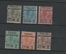 1890 Valevole per le Stampe serie cpl mlh