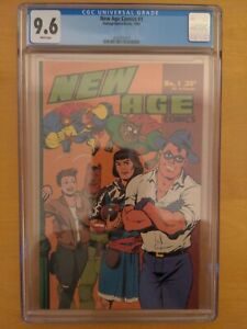 New Age Comics #1 CGC  9.6 1st Color Teenage Mutant Ninja Turtles In A Comic