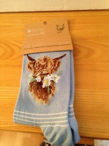 Wrendale Antibacterial One Size Super Soft Bamboo Socks Daisy Coo