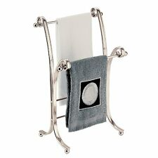 InterDesign York Lyra Fingertip Towel Stand , Satin , New, Free Shipping
