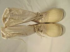 Sorel Vintage Canada Made Snowcat Womens 9 Tall White Insulated Snow Winter Boot