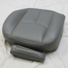 03-07 GMC Sierra Yukon Driver Bottom Leather Seat Cover Arm,rest cover dark GRAY