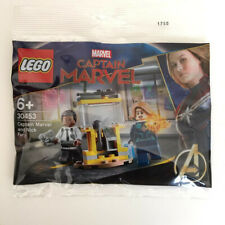"Lego Super Heroes ""Capitán Marvel and Nick Fury"" minifigura polybag [30453] OVP"