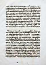 Foglio inkunabel Statuta Synodalia herbipolensia Würzburg Georg reyser 1486