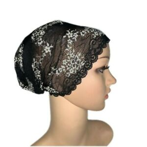 26Colors Muslim Women Lace Inner Hats Hijabs Breathable Mesh Underscarf Caps