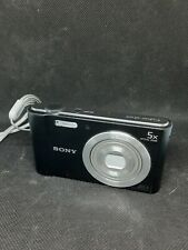 Sony Cyber-shot 20.1 MP Digital Camera - Black