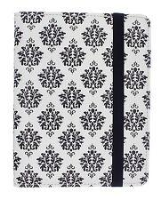 Trendz E-Reader Case Black&White fleur de lis Kindle Paperwhite Kobo Nook Touch