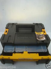 DEWALT TSTAK III  DEEP DRAWER STORAGE CASE + CONTAINERS DWST1 70705