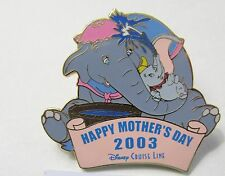 Disney DCL Mother's Day Mrs. Jumbo & Dumbo Pin