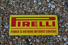 PIRELLI RacingTires SIGN Garage Tire Shop Mechanic SIGN AD Logo Free Ship