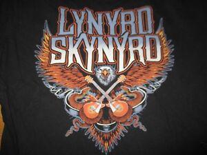 LYNYRD SKYNYRD (XL) T-Shirt AMERICAN EAGLE SNAKES w/ GUITARS
