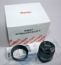 Mamiya Phase One 645DF Camera Schneider Kreuznach 55mm f/2.8 LS AF Lens in Box