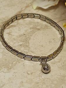 SILVER Pomegranate Jewelry for Woman SWAROVSKI Bangle Gift Judaica Jewelry HMADE