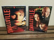 Smallville Tv Series Complete Season 2 & 3 New Factory Sealed
