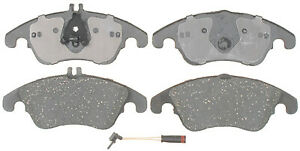 ACDelco 17D1342C Front Brake Pad Set For Select 08-17 Mercedes-Benz Models