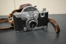Vintage 1940's Mercury Ii Cx 35mm Camera Universal Tricor F 2.7 Len Leather Case