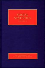 Social Statistics Berridge Penn SAGE Publications Mixed media pro… 9781847873569