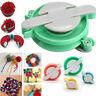 4 Size Pom pom Maker Manual Weaver Needle Knitting Crafts Bobble DIY Tool Kit