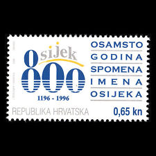 Croatia 1996 - Charity Tax stamp Osijek - Sc RA73 MNH