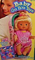 1995 Vintage Kenner Baby All Gone Go Bye Bye Doll Bottle & Carrier COMPLETE NIB
